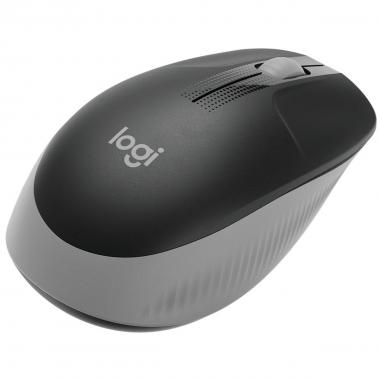 Mouse wireless logitech m190 grigio, 910-005906