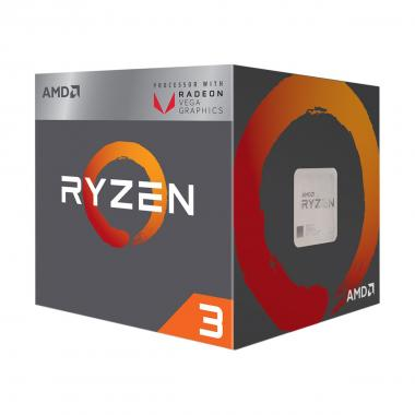 CPU AMD Ryzen 3 2200G with Radeon Vega 8 Graphics