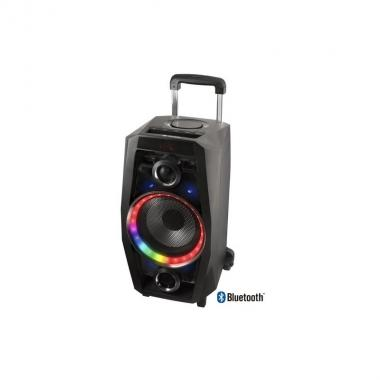Ngs speaker wild disco portatile bluetoo th 80w usb-sd-fm-aux luci led