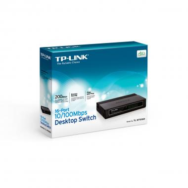 Tp-link 16 porte 10/100 desktop switch