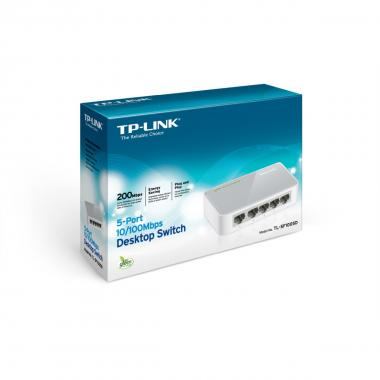 Tp-link 5 porte 10/100 mini switch , tl-sf1005d