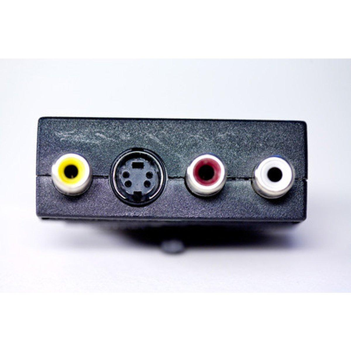 Techmade adattatore bidirezionale scart/ rca/s-video, 07645, ccv-4415